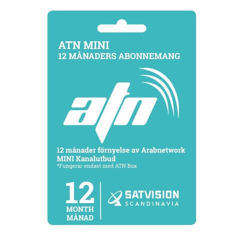 ATN Mini Abonnemang - 12 Månader