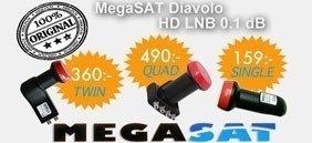 Megasat Diavolog HD LNB Orginal