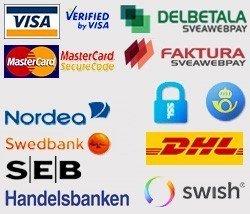 Betalning & Säkerhet