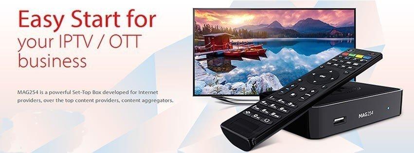 MAG 250 -IPTV OTT Box